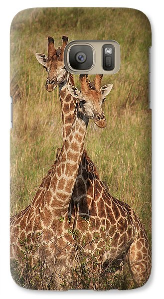 Galaxy Case featuring the photograph Togetherness by Kim Andelkovic