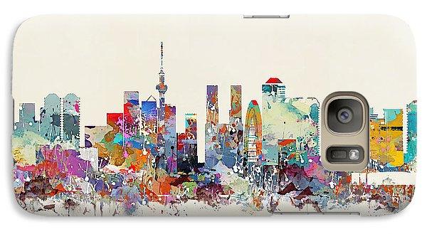 Tokyo Skyine Galaxy Case by Bri B