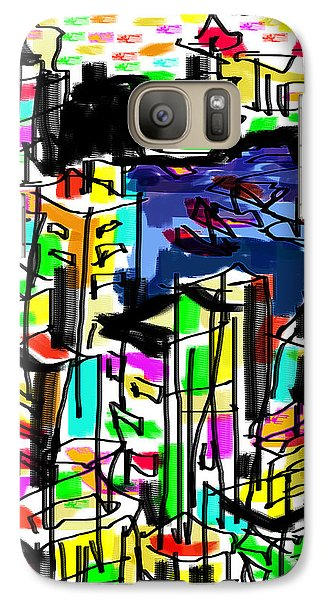 Galaxy Case featuring the digital art Tokyo by Sladjana Lazarevic