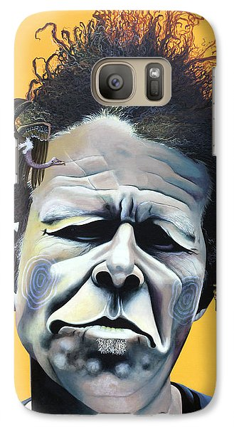 Tom Waits - He's Big In Japan Galaxy S7 Case by Kelly Jade King