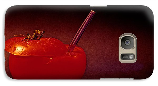 Galaxy Case featuring the photograph Tomato Juice by Sharon Elliott