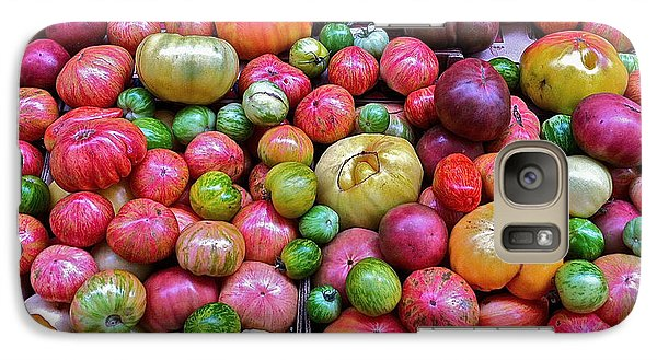 Galaxy Case featuring the photograph Tomatoes by Bill Owen