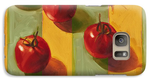 Tomatoes Galaxy S7 Case by Cathy Locke