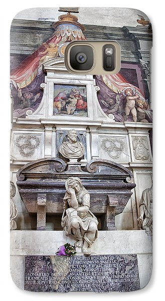 Tomb Of Michelangelo Galaxy S7 Case by Melany Sarafis