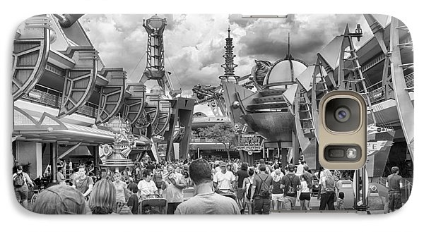 Galaxy Case featuring the photograph Tomorrowland by Howard Salmon