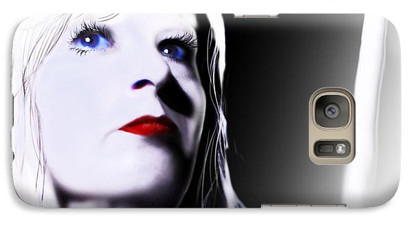 Galaxy Case featuring the digital art Tomorrow's Memory by Jeremy Martinson