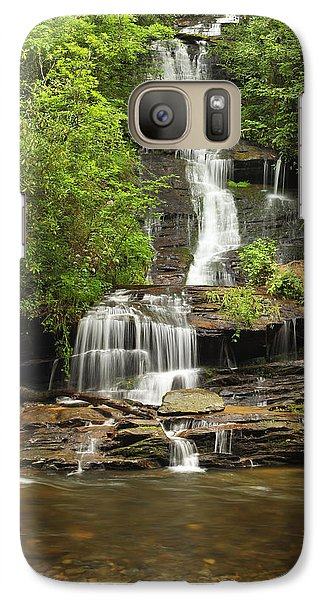 Galaxy Case featuring the photograph Toms Branch Falls by Harold Rau