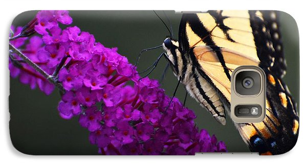 Galaxy Case featuring the photograph Too Close For Comfort by Judy Wolinsky