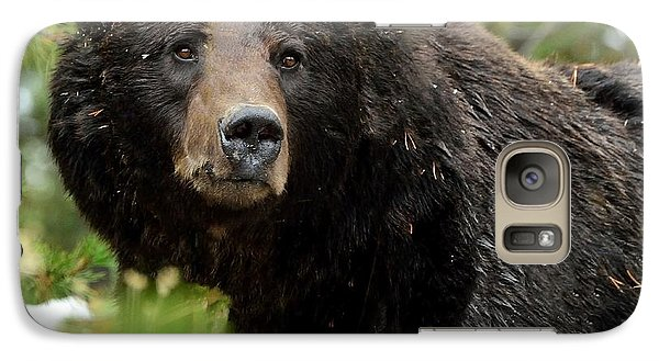 Galaxy Case featuring the photograph Too Close For Comfort by Yeates Photography