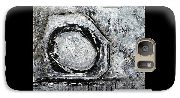 Galaxy Case featuring the painting Tool Time by Jim Whalen