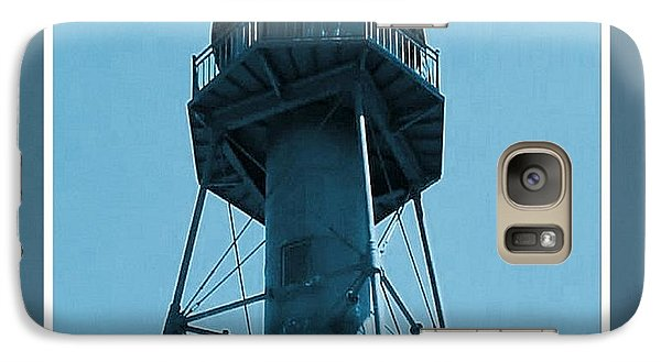 Galaxy Case featuring the photograph Top Of Sanibel Island Lighthouse by Janette Boyd