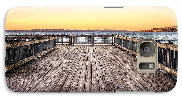 Galaxy Case featuring the photograph Top Of The Ocean Pier by Rob Green