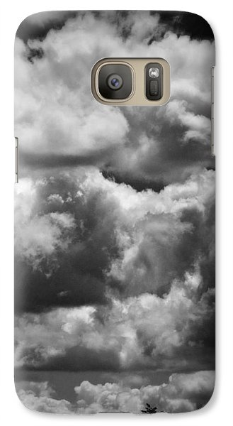 Galaxy Case featuring the photograph Top Of The World by Joan Davis