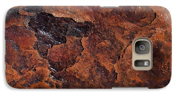 Topography Of Rust Galaxy S7 Case