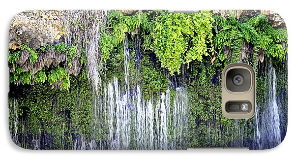 Galaxy Case featuring the photograph Topsy Turvy by AJ  Schibig