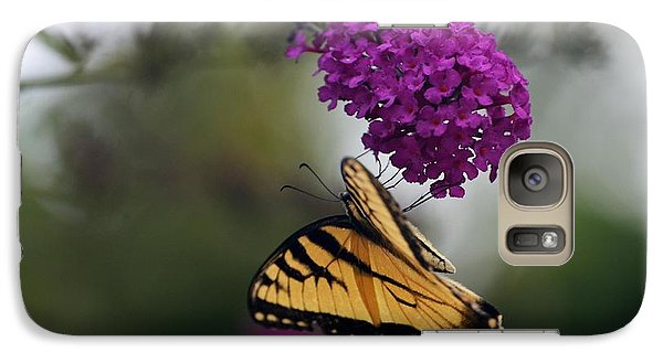 Galaxy Case featuring the photograph Topsy Turvy by Judy Wolinsky