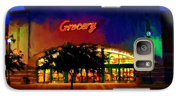 Galaxy Case featuring the digital art Torget Super Store A by P Dwain Morris