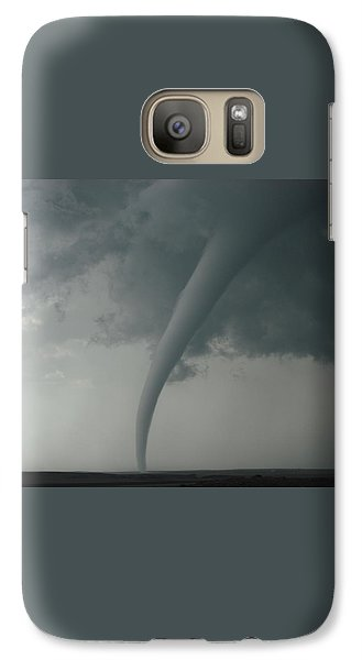 Galaxy Case featuring the photograph Tornado Country by Ed Sweeney