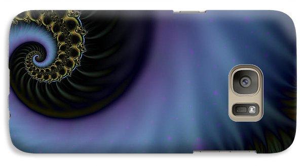 Galaxy Case featuring the digital art Tornado Dancers by Elizabeth McTaggart