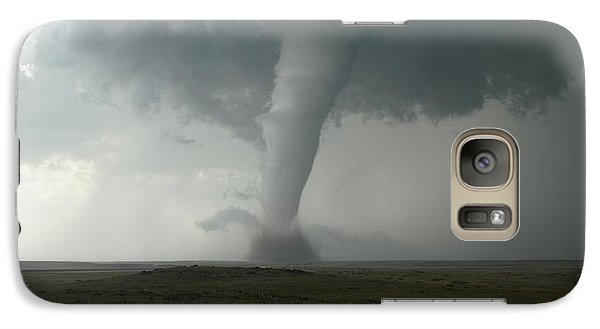 Galaxy Case featuring the photograph Tornado In The High Plains by Ed Sweeney