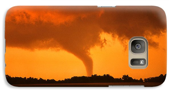 Tornado Sunset Galaxy S7 Case