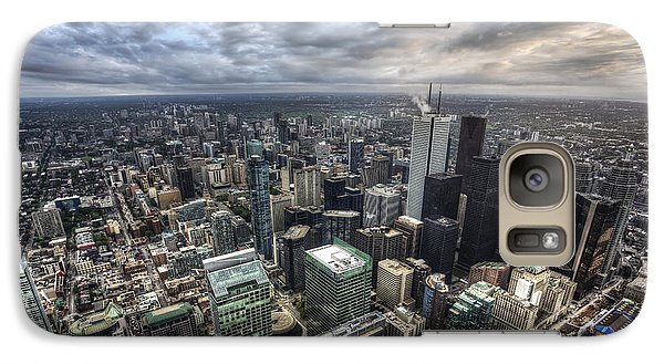Galaxy Case featuring the photograph Toronto Daybreak by Shawn Everhart