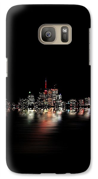 Galaxy Case featuring the photograph Toronto Flood No 3 My Island by Brian Carson