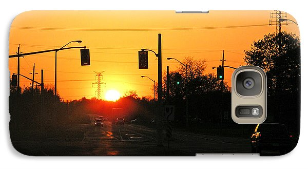Galaxy Case featuring the photograph Toronto - Urban Sunset by Phil Banks