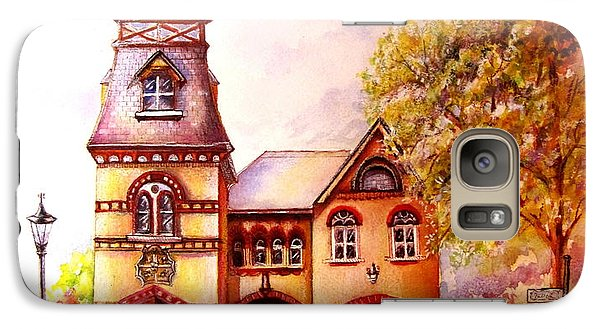 Galaxy Case featuring the painting Toronto's Old Yorkville Fire Hall by Patricia Schneider Mitchell