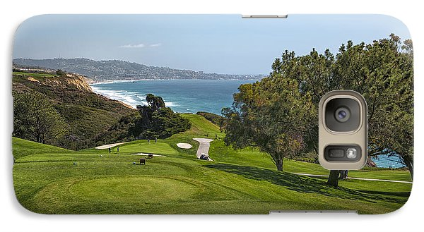 Torrey Pines Golf Course North 6th Hole Galaxy S7 Case