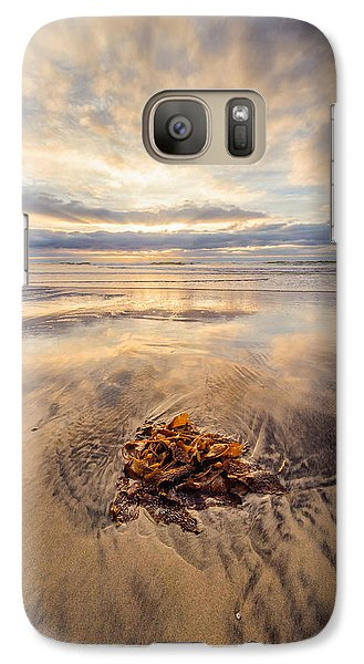 Galaxy Case featuring the photograph Torrey Pines Sunset by Alexander Kunz