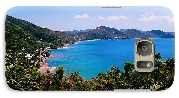 Galaxy Case featuring the digital art Tortola Bay by Kara  Stewart