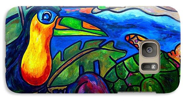 Toucan Galaxy S7 Case - Tortuga Eco Tour by Patti Schermerhorn