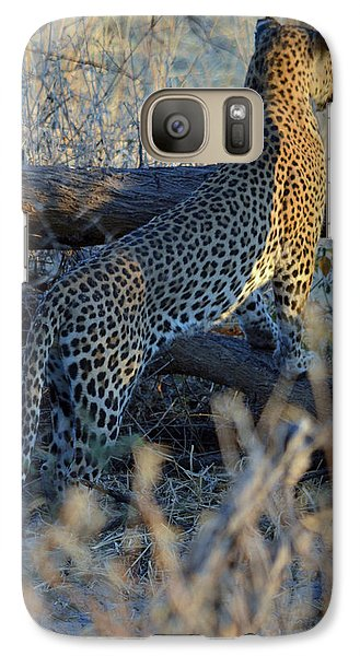 Galaxy Case featuring the photograph Total Attention by Allan McConnell