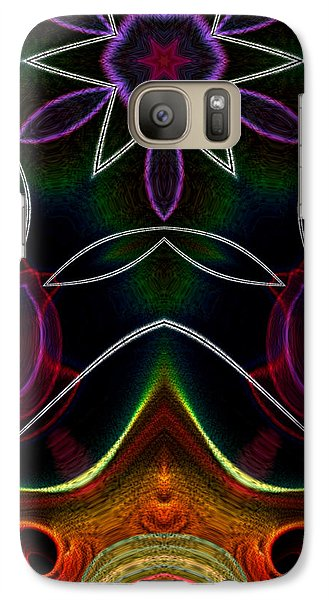 Galaxy Case featuring the digital art Touch A Star by Owlspook