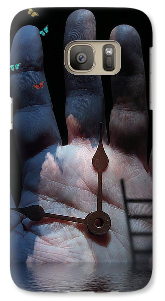 Galaxy Case featuring the digital art Touch by Bruce Rolff