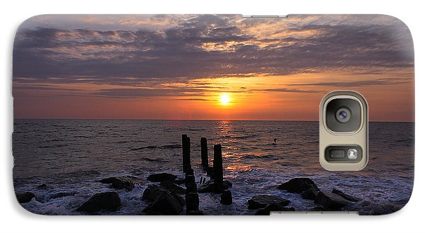 Galaxy Case featuring the photograph Touch Of Dawn by Everett Houser