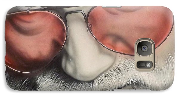 Galaxy Case featuring the painting Touch Of Grey by Darren Robinson