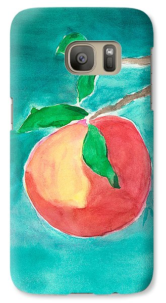 Galaxy Case featuring the painting Touching The Water by Frank Bright