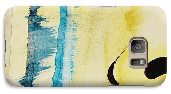 Galaxy Case featuring the painting Tougher Than You Think 2 by Michael Cross