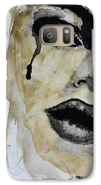Galaxy Case featuring the painting Tougher Than You Think 3 by Michael Cross