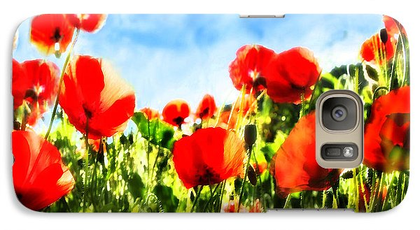 Galaxy Case featuring the photograph Toujours Plus Haut by Selke Boris