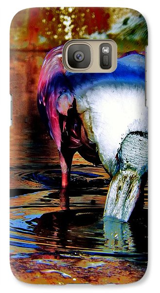 Galaxy Case featuring the photograph Toupee by Faith Williams