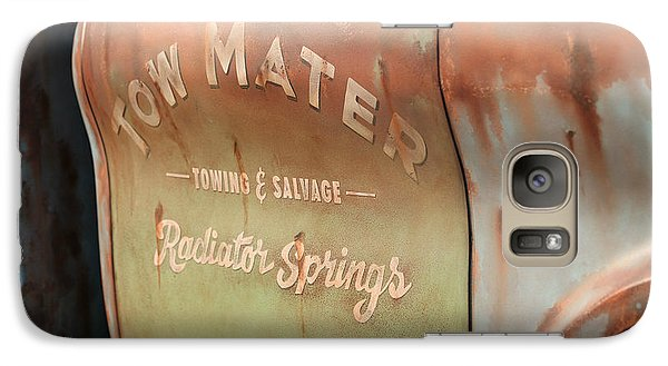 Galaxy Case featuring the photograph Tow Mater by Michael Albright