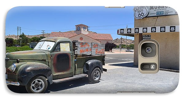 Galaxy Case featuring the photograph Tow Truck On Route 66 by Utopia Concepts