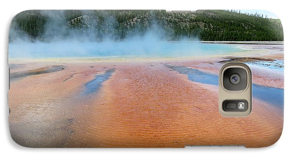 Galaxy Case featuring the photograph Toward The Blue Stream by Laurel Powell