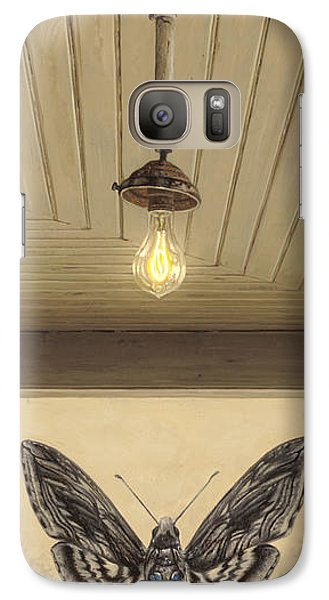 Galaxy Case featuring the painting Toward The Light by Ron Crabb