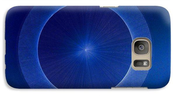 Towards Pi 3.141552779 Hand Drawn Galaxy S7 Case