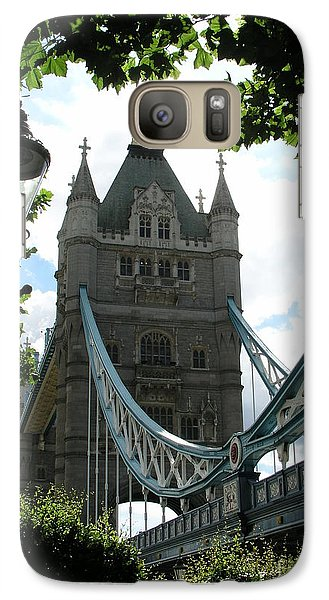 Galaxy Case featuring the photograph Tower Bridge by Bev Conover