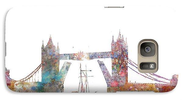 Tower Bridge Colorsplash Galaxy S7 Case